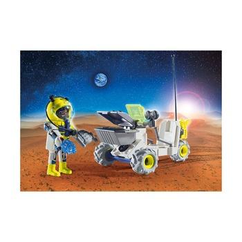 Марсоход + спутниковый метеороидный лазер