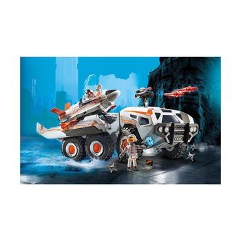 Боевой грузовик команды шпионов + мега беспилотник