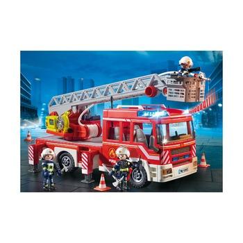 Пожарная машина с лестницей + пожарный кран