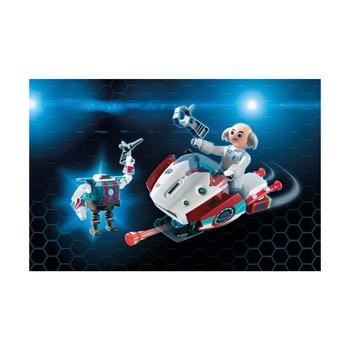 Фулгурикс с агентом Джин + скайджет с доктором Х и робот