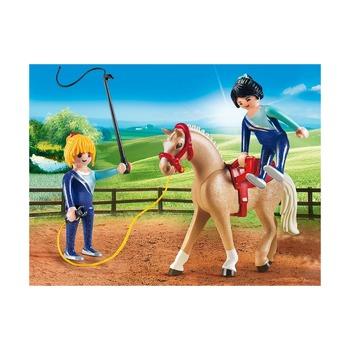 Загон для лошадей + вольтижировка