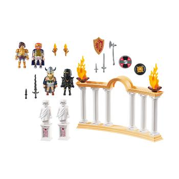 Император Максимус в Колизее + Марла с Лошадью
