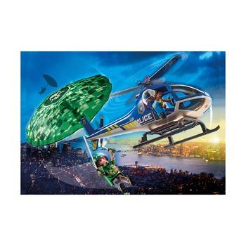 Полицейский разведчик на парашюте
