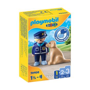 Полицейский с собакой