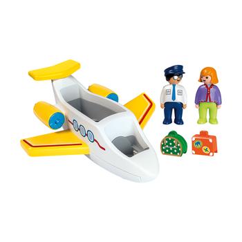 Самолет с пассажиром
