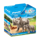 Носорог с теленком