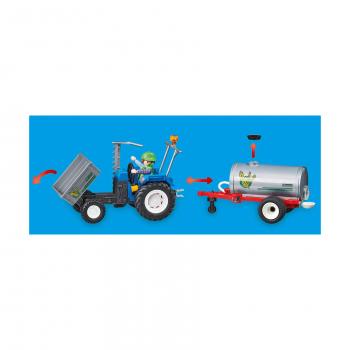 Погрузочный трактор с баком для воды