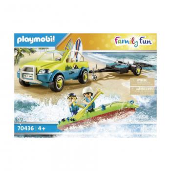 Пляжная машина с каноэ