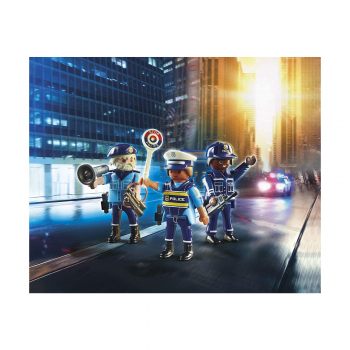 Фигурки полицейских