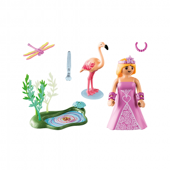 Принцесса у пруда