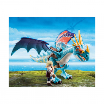 Гонки на драконах: Астрид и Грозовая Муха