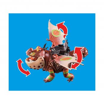 Гонки на драконах: Рыбьеног и Сарделька