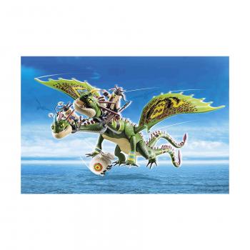 Гонки на драконах: Руффнат и Туффнат с Барфом и Отрыжкой