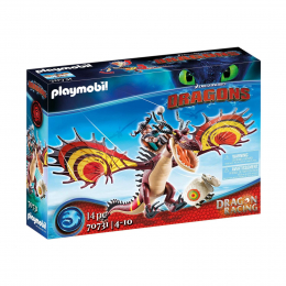 Гонки на драконах: Сморкала и Кривоклык