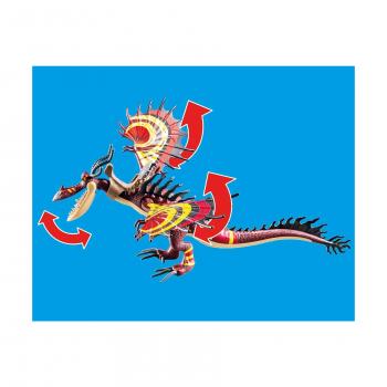Гонки на драконах: Сморкала и Крюкоклык